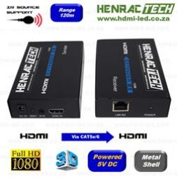 HDMI extenders with IR