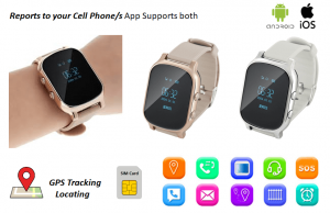 gps tracking watch sim card